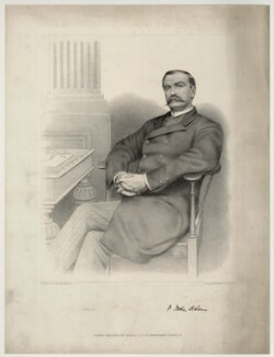 Sir Frank Forbes Adam, 1st Bt, by C.W. Walton & Co - NPG D7167