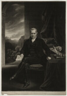 William Adam, by Samuel William Reynolds, after  John Opie - NPG D7169