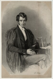 William Adams, by James Henry Lynch, after  Thomas Richmond - NPG D7170