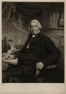 Sir William Addington, by William Ward, after  Sir Martin Archer Shee - NPG D7172