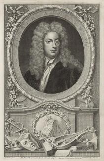 Joseph Addison, by Jacobus Houbraken, after  Sir Godfrey Kneller, Bt, published 1748 - NPG D7173 - © National Portrait Gallery, London