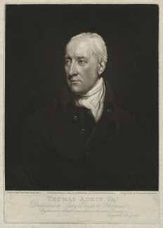 Thomas Adkin, by and published by Elizabeth Walker (née Reynolds), after  John Opie - NPG D7174