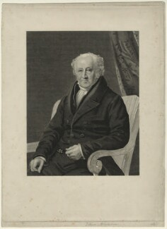 Thomas Foxley, by James Thomson (Thompson), published by  Agnew & Zanetti, after  James Lonsdale - NPG D7179