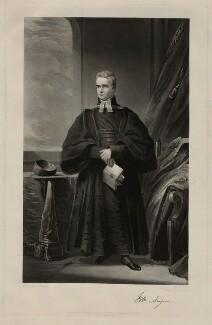 William Ainger, by Samuel William Reynolds, after  James Lonsdale - NPG D7184