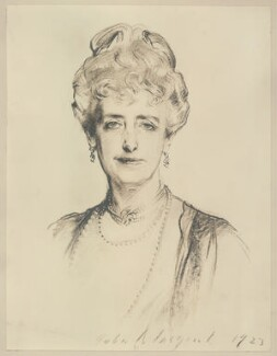 Mabell Frances Elizabeth (née Gore), Countess of Airlie, after John Singer Sargent - NPG D7185