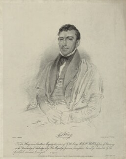 Sir George Biddell Airy, by Isaac Ware Slater, after  Thomas Charles Wageman - NPG D7186