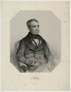 Sir George Biddell Airy, by Thomas Herbert Maguire - NPG D7188