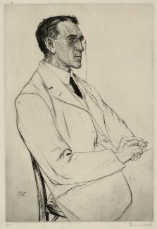 Charles Aitken, by Francis Dodd, 1914 - NPG D7193 - © estate of Francis Dodd