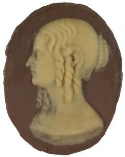 Emily Sarah (née Robinson), Lady Madden, by Richard Cockle Lucas - NPG D7202