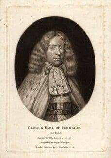 George Berkeley, 1st Earl of Berkeley, by Robert Dunkarton, after  David Loggan - NPG D723