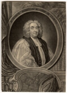 George Berkeley, by John Brooks, after  James Latham - NPG D729