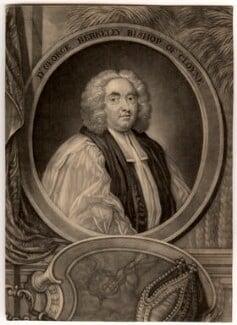 George Berkeley, by John Brooks, after  James Latham, circa 1730-1756 - NPG D729 - © National Portrait Gallery, London