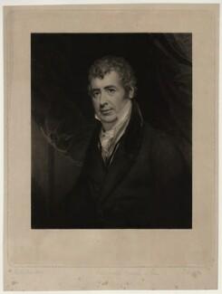 Lancelot Baugh Allen, by Thomas Goff Lupton, after  Sir William Beechey, mid 19th century - NPG D7303 - © National Portrait Gallery, London