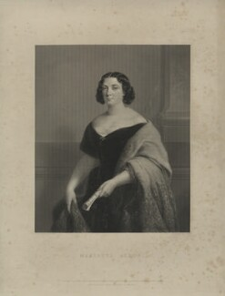 Marietta Alboni, Countess Pepoli (née Maria Anna Marzia), by James Posselwhite, after  Jules Laure, published 1849 - NPG D7308 - © National Portrait Gallery, London