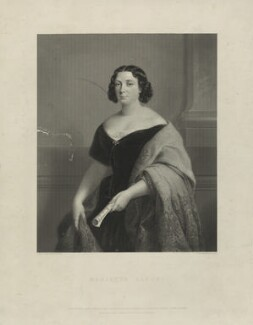 Marietta Alboni, Countess Pepoli (née Maria Anna Marzia), by James Posselwhite, after  Jules Laure, published 1849 - NPG D7309 - © National Portrait Gallery, London