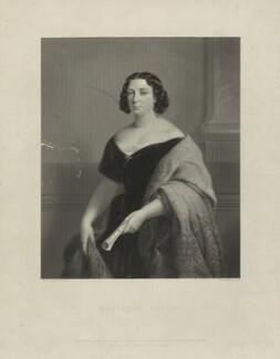 Marietta Alboni, Countess Pepoli (née Maria Anna Marzia), by James Posselwhite, after  Jules Laure, published 1849 - NPG D7309 - © National Portrait Gallery, London