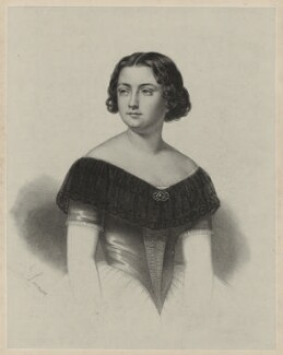 Marietta Alboni, Countess Pepoli (née Maria Anna Marzia), by A. de Laroussie, after  Unknown artist - NPG D7310