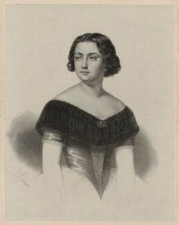 Marietta Alboni, Countess Pepoli (née Maria Anna Marzia), by A. de Laroussie, after  Unknown artist, 1840s - NPG D7310 - © National Portrait Gallery, London