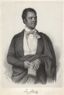 Ira Frederick Aldridge, by Nicolas Barabas, 1853 - NPG  - © National Portrait Gallery, London