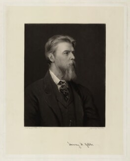 Henry Hucks Gibbs, 1st Baron Aldenham, by James Faed the Elder, after  George Frederic Watts - NPG D7312