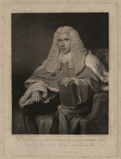 Sir Edward Hall Alderson, by William Skelton, published by  William Johnstone White, after  Henry Perronet Briggs - NPG D7313