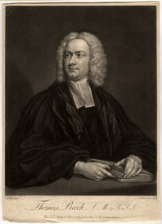 Thomas Birch, by John Faber Jr, after  James Wills - NPG D732