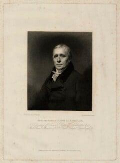 Archibald Alison, by William Walker, after  Sir Henry Raeburn, published 1823 - NPG D7325 - © National Portrait Gallery, London