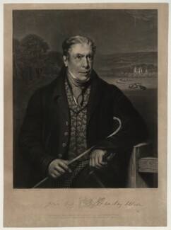 Robert Barclay Allardice, by Robert Moore Hodgetts, after  James William Giles, mid 19th century - NPG D7328 - © National Portrait Gallery, London