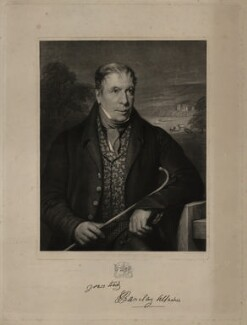 Robert Barclay Allardice, by Robert Moore Hodgetts, after  James William Giles - NPG D7329