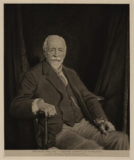 Sir Thomas Clifford Allbutt, after Sir William Orpen, (1919) - NPG D7330 - © National Portrait Gallery, London