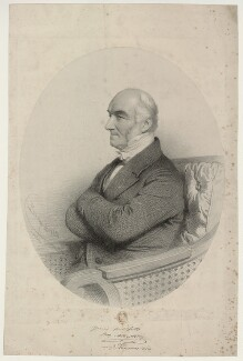 John Alliston, by Charles Baugniet - NPG D7338