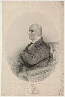 John Alliston, by Charles Baugniet, 1854 - NPG D7338 - © National Portrait Gallery, London