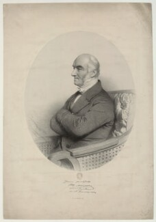 John Alliston, by Charles Baugniet - NPG D7339
