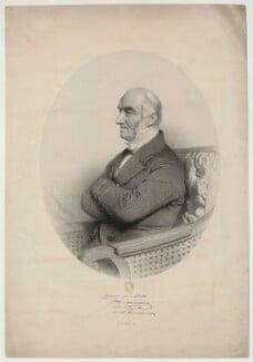 John Alliston, by Charles Baugniet, 1854 - NPG D7339 - © National Portrait Gallery, London