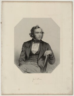 George James Allman, by Thomas Herbert Maguire - NPG D7340