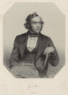 George James Allman, by Thomas Herbert Maguire - NPG D7341