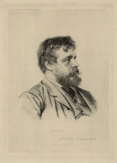 Sir Lawrence Alma-Tadema, by Paul Adolphe Rajon - NPG D7343