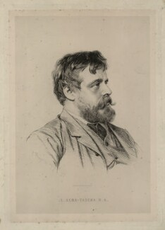 Sir Lawrence Alma-Tadema, by Paul Adolphe Rajon - NPG D7345