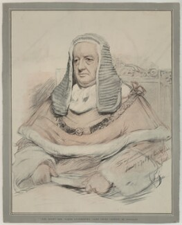 Richard Everard Webster, Viscount Alverstone, published by The Graphic, after  John Seymour Lucas, published 21 June 1902 - NPG  - © National Portrait Gallery, London