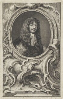 Henry Bennet, 1st Earl of Arlington, by Jacobus Houbraken, after  Sir Peter Lely - NPG D7352