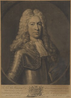 John Armstrong, by James Macardell, after  Unknown artist - NPG D7359