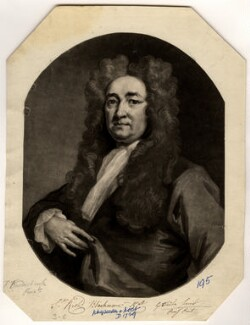 Sir Richard Blackmore, by George White, after  John Vanderbank - NPG D736