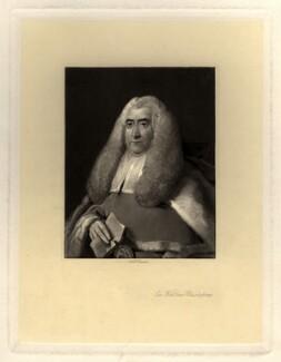 Sir William Blackstone, by Arthur N. Sanders, after  Thomas Gainsborough - NPG D737