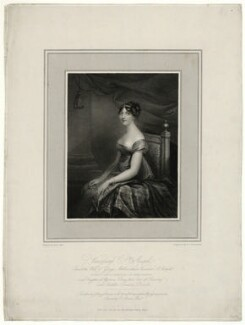 Charlotte Ashburnham (née Percy), Countess of Ashburnham when Viscountess St Asaph, by Niccolò Schiavonetti, published by and after  Anne Mee (née Foldsone) - NPG D7394