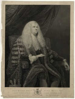 John Dunning, 1st Baron Ashburton, by Francesco Bartolozzi, published by  Thomas Macklin, after  Sir Joshua Reynolds - NPG D7395