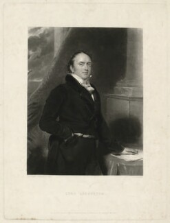 Alexander Baring, 1st Baron Ashburton, by Charles Edward Wagstaff, after  Sir Thomas Lawrence, published 1837 - NPG D7396 - © National Portrait Gallery, London