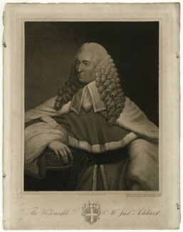 Sir William Henry Ashhurst, by John Jones, after  John Plott - NPG D7401