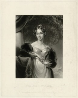 Maria Anne Ashley (née Baillie), by George Henry Phillips, after  Sir Thomas Lawrence, published 1842 - NPG D7404 - © National Portrait Gallery, London