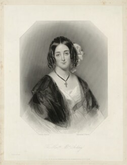 Maria Anne Ashley (née Baillie), by James Thomson (Thompson), after  John Bostock - NPG D7406