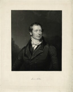Thomas Ashton, by James Thomson (Thompson), after  William Bradley - NPG D7410